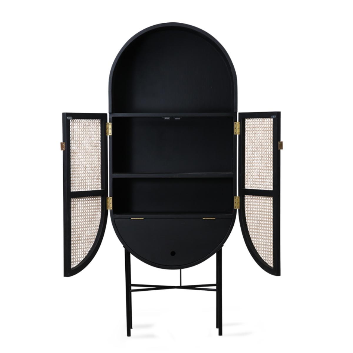 retro oval cabinet 3