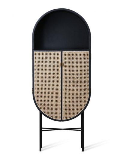 retro oval cabinet