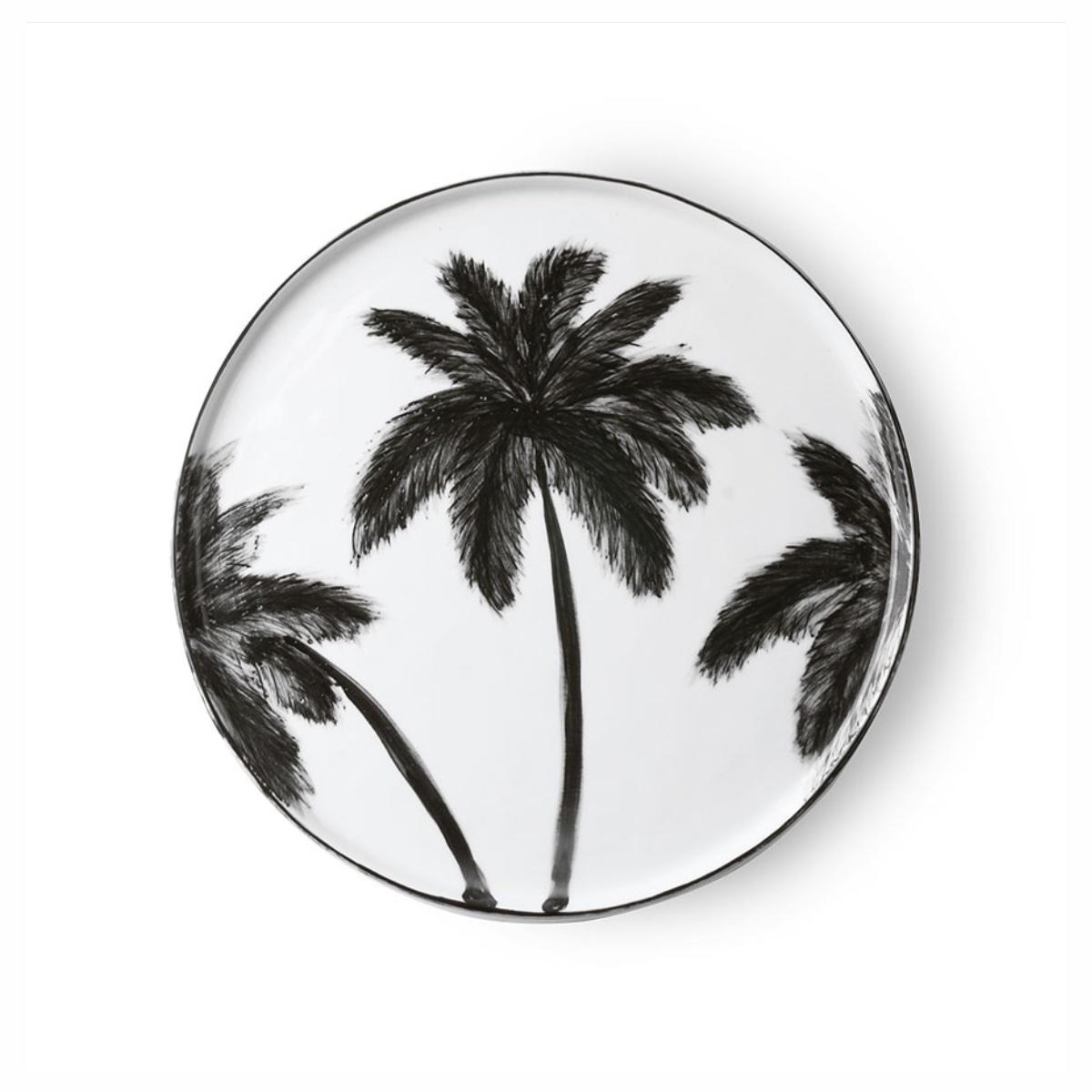 Assiette palm